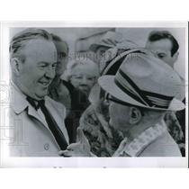 1962 Press Photo Lester B. Pearson - neb21559