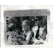 1973 Press Photo Rosella Rossini Kindapped Dr. Italo Rossini