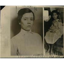 1920 Press Photo Mrs Marie Chin Wore Charged with Selling Her 14 Year Old Daught