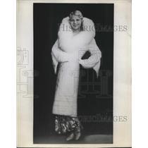 1932 Press Photo Mlle Irene Von Zilahy, Hungarian Actress