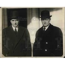 1926 Press Photo Australia PM Stanley Bruce & Sir Howard of Britain