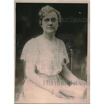 1919 Press Photo Mrs. Isaac Gans, Pres. Ladies Board Georgetown Univ. Hospital