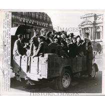 1916 Press Photo An epidemic of strikes hitting Parisian transportation