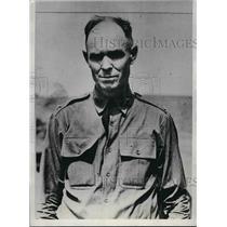 1933 Press Photo Col. Guy C. Rexroad, Deputy Warden Leavenworth Federal Prison