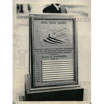 1928 Press Photo Noel Davis Troplhy Won by Philadelphia Naval Reserve Aviation U
