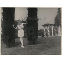 1924 Press Photo Jujitsu instructor Emily Diana Watts
