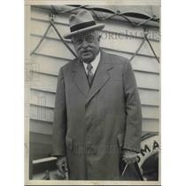 1931 Press Photo H. E. Vittorio Orlando, Italian ex-premier, visits NY