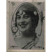 1921 Press Photo Miss Olga Harting, wife of Donald Mackay, ex-Yale Athlete