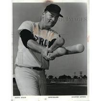 Press Photo Rusty Staub, outfielder