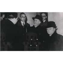 1939 Press Photo M Soudan Socialist Senator given task King Leopold form Belgian
