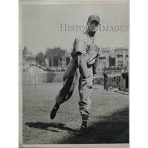 1937 Press Photo New York Giants Schumacher Pitcher - nes02729