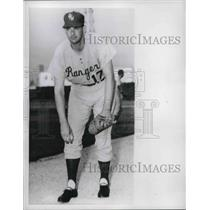1960 Press Photo Don Larsen Of The Rangers - nes02800