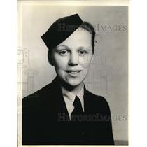 1938 Press Photo Steardess Mary L. todd