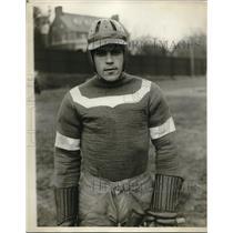 1929 Press Photo NYU lacrosse captain Milton James - nes03145