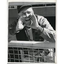 1941 Press Photo Oscar Vitt, Manager of Portland, Former Manager of Indians