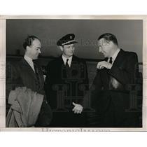 1941 Press Photo Captains R Alderson & Kelly Rogers