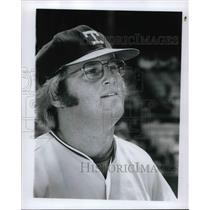 1973 Press Photo Jeff Burroughs of Texas - nes02575