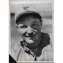 1938 Press Photo Fred Haney, new manager of St. Louis Browns - nes01536