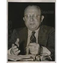 1939 Press Photo Robert William Wiener Financial Secretary Of American Communist