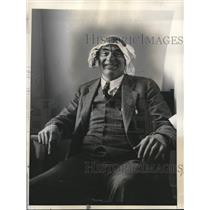 1935 Press Photo Communist Leader Robert Minor Pictured Following Return
