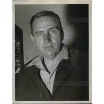 1936 Press Photo Pierce Toney, weaver at Scotsdale Mills, Atlanta, Ga