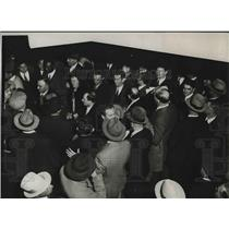1932 Press Photo Members of Insurgent Group AT of L Demonstrate at Convention