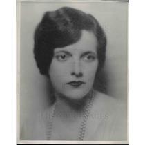 1933 Press Photo Newspaper Enterprise Association pattern artist Julia Boyd