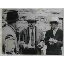 1935 Press Photo Asst Deputy Warden AG Graham of Kansas StatePrison