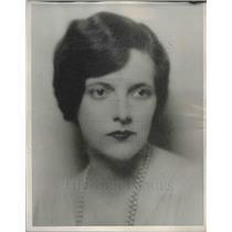 1934 Press Photo Julia Boyd, pattern artist at Newspaper Enterprise Association
