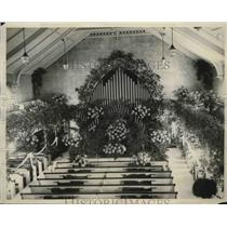 1929 Press Photo Congregational Church where John Coolidge married Miss Trumball