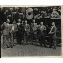1923 Press Photo Exex board of Ohio State Grange, Tabor, Lewis,Vandenbark,caton