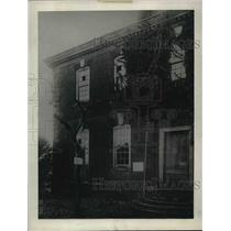 1921 Press Photo The colonial HQ during the battle of Yorktown, is now a shrine.