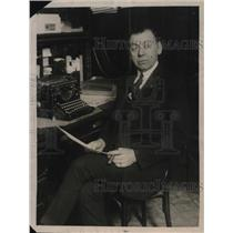 1922 Press Photo Billy Gibson,manager of boxer Benny Leonard - neb45816