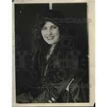 1915 Press Photo Mrs. Diamond Brown, Wife of Dudley F. Brown, Drug King