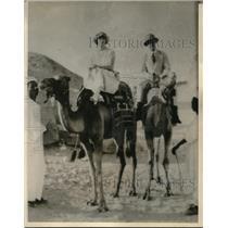 1922 Press Photo Mr. & Mrs. A. Y. Gowen in Alexandria, Egypt - nex05992