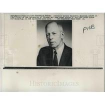 1966 Press Photo Prof Robert Mulliken, Nobel Prize for chemistry