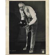 1935 Press Photo bowler Ray Nolan