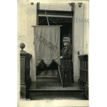 1922 Press Photo Mrs Emily Pierce Moor headquarters of Woman's Party Washington