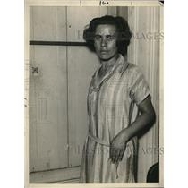 1925 Press Photo Miriam Friedman Expelled Member Of Local # 22