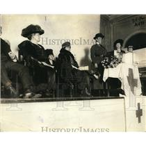1920 Press Photo Red Cross, Mrs. Wilson, Mrs. Newton Baker, Washington DC