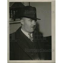 1934 Press Photo Mr Louis Mead Depression Era - neb48496