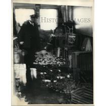 1931 Press Photo Statesville, Ill prison kitchen disorder from riots - neb51711