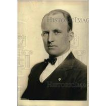 1922 Press Photo American Legion commander, Hanford MacNider