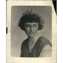 1918 Press Photo Miss Marjorie Jones, photographer for Y.M.C.A.