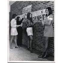 1974 Press Photo Kirtland High School Homecoming Queen Candiadates - neb51305