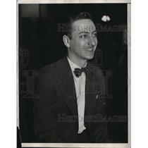 1933 Press Photo Herbert Block was an American editorial cartoonist and author