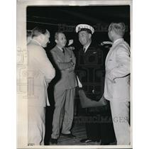 1939 Press Photo Comdr Capt JC K Rogers, flight from Kisumu toi Durban
