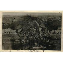 1919 Press Photo Viaduct destroyed by the Huns, trying to stop the French