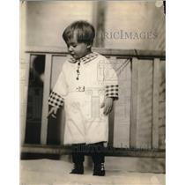 1921 Press Photo Young Joey Dorman