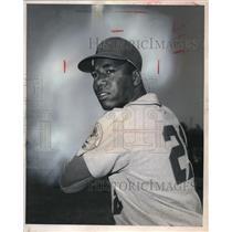 1969 Press Photo Outfielder Cleon Jones, New York Mets - nes04527